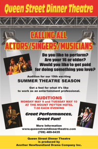 2016 Auditions
